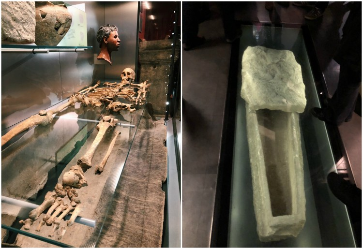 BATH - SKELETON AND COFFIN